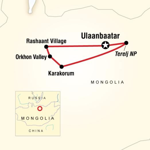 mongolia itinerary